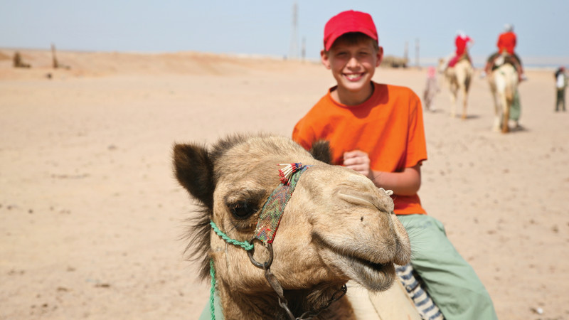 Intrepid Travel-egypt_boy_on_camel