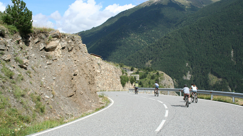 Intrepid Travel-Andorra_Pyrenees_Summer_Family_Holiday-cycling-mountain2