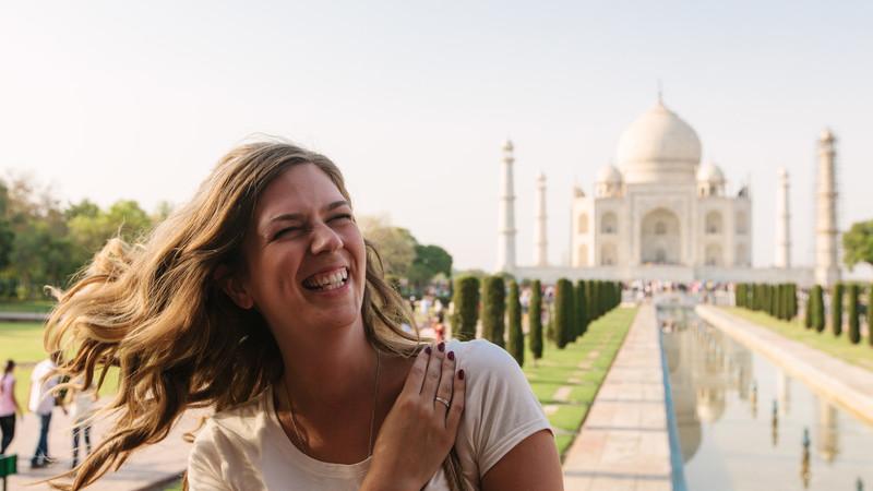 Intrepid Travel-India_Agra_taj_mahal_smile_194