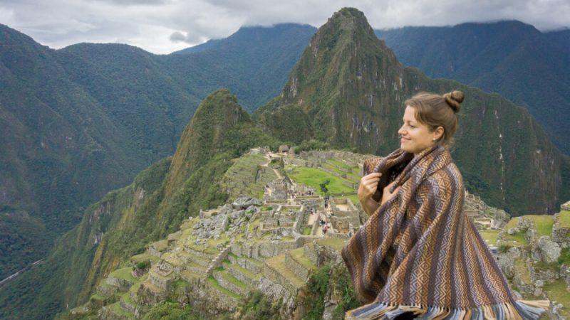 Melanie in Machu Picchu