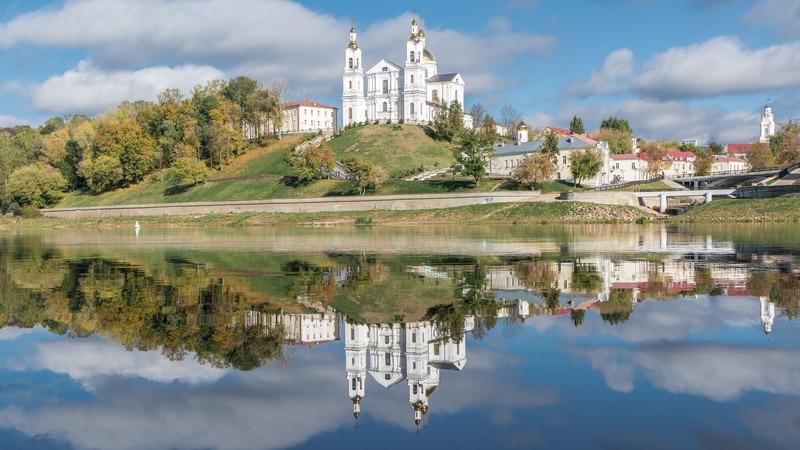 Asien-Weißrussland-Vitebsk-Kathedrale