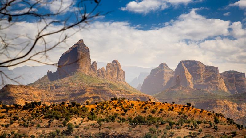 Afrika-Äthiopien-Simien
