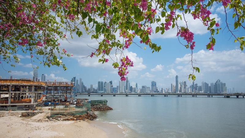 Mittelamerika-Panama-Panama-City-Skyline
