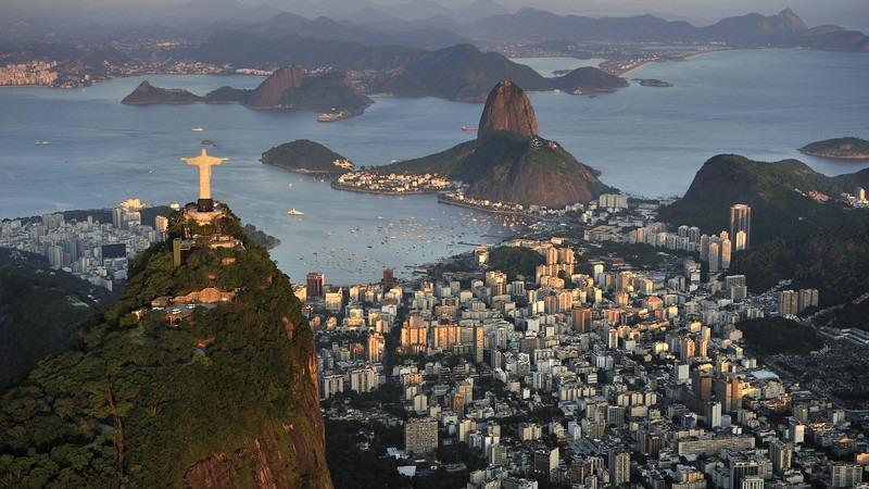 Südamerika-Brasilien-Rio-de-Janeiro-Christusstatue