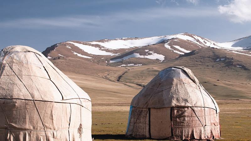 Asien-Kirgistan-Tien-Shan-Jurten