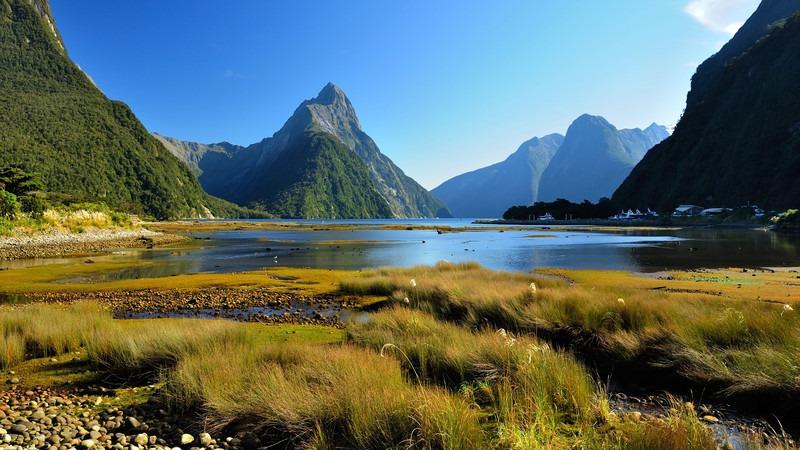 Neuseeland-Südinsel-Milford-Sound