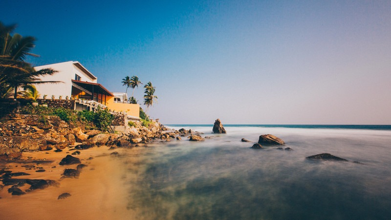 Südostasien-Sri-Lanka-Unawatuna-Strand